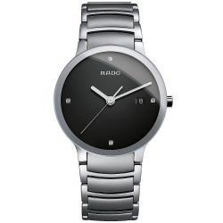 Montre Rado Homme Centrix Diamonds L Quartz R30927713 Diamants