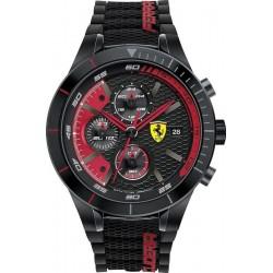Acheter Montre Homme Scuderia Ferrari Red Rev Evo Chrono 0830260