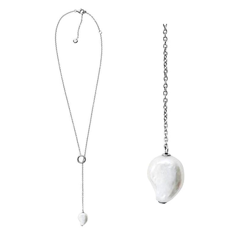 skagen collier perle
