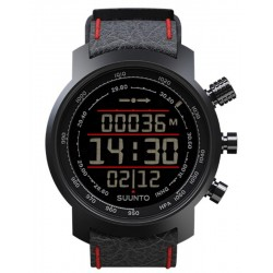 Acheter Montre Homme Suunto Elementum Terra Black/Red Leather SS019171000