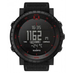 Montre Homme Suunto Core Black Red SS023158000