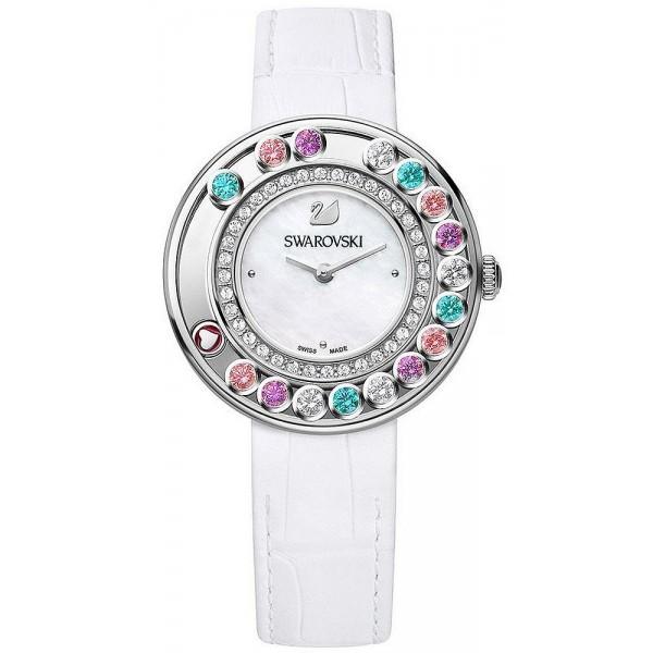 Montre Swarovski Femme Lovely Crystals Multi Colored 5183955 Nacre Crivelli Shopping