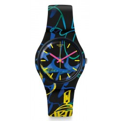 Montre Unisex Swatch Gent Nightclub GB318