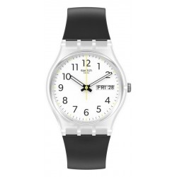 Montre Unisex Swatch Gent Rinse Repeat Black GE726