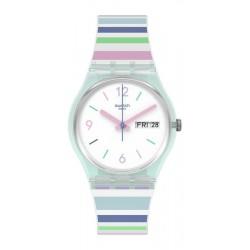 Acheter Montre Femme Swatch Gent Pastel Zebra GL702