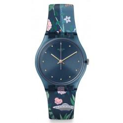 Acheter Montre Femme Swatch Gent Ovni Garden GN258