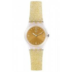 Montre Femme Swatch Lady Golden Glistar Too LK382