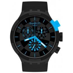 Acheter Montre Swatch Big Bold Chrono Checkpoint Blue SB02B401