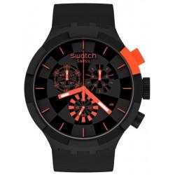 Acheter Montre Swatch Big Bold Chrono Checkpoint Red SB02B402