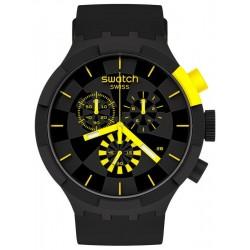 Acheter Montre Swatch Big Bold Chrono Checkpoint Yellow SB02B403