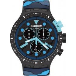 Acheter Montre Swatch Big Bold Chrono Escapeocean SB02B408