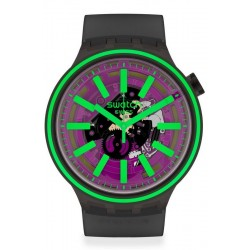 Acheter Montre Swatch Big Bold Pink Taste SO27B113