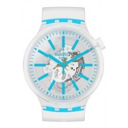 Acheter Montre Swatch Big Bold Blueinjelly SO27E105