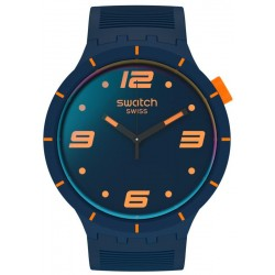 Montre Swatch Big Bold Futuristic Blue SO27N110