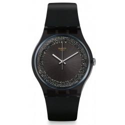 Montre Femme Swatch New Gent Darksparkles SUOB156
