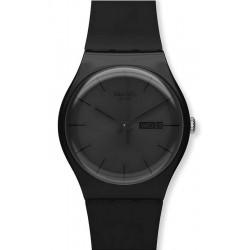 Montre Unisex Swatch New Gent Black Rebel SUOB702