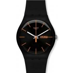 Montre Unisex Swatch New Gent Dark Rebel SUOB704