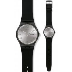 Montre Unisex Swatch New Gent Silver Friend SUOB717