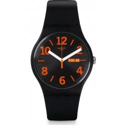 Montre Unisex Swatch New Gent Orangio SUOB723