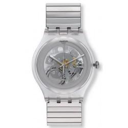 Montre Unisex Swatch New Gent Cleared Up S SUOK105FB
