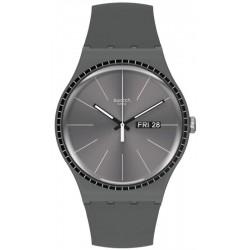 Montre Unisex Swatch New Gent Grey Rails SUOM709