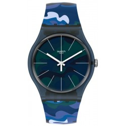 Montre Unisex Swatch New Gent Camouclouds SUON140