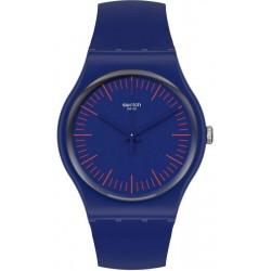 Montre Unisex Swatch New Gent Bluenred SUON146