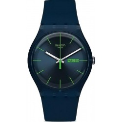 Montre Unisex Swatch New Gent Blue Rebel SUON700