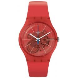 Montre Unisex Swatch New Gent Bloody Orange SUOO105