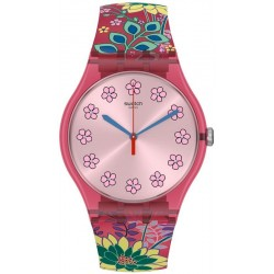 Montre Femme Swatch New Gent Dhabiscus SUOP112