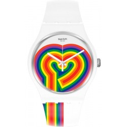 Montre Femme Swatch New Gent Beating Love SUOW171