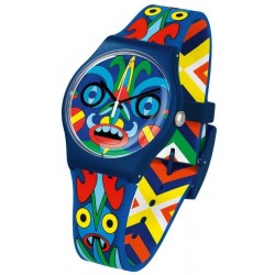 Montre Swatch Mika SUOZ171 Originals New Gent Kukulakuku Unisex