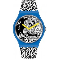 Acheter Montre Mickey Mouse Swatch Eclectic Mickey SUOZ336