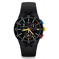Acheter Montre Unisex Swatch Chrono Plastic Black-One SUSB416