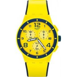Acheter Montre Unisex Swatch Chrono Plastic Solleore SUSJ401 Chronographe