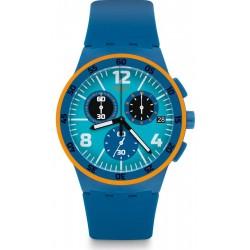 Acheter Montre Unisex Swatch Chrono Plastic Capanno SUSN413 Chronographe