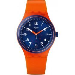 Montre Unisex Swatch Sistem51 Sistem Tangerine SUTO401 Automatique