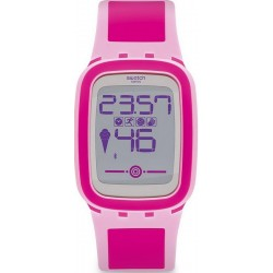 Montre Femme Swatch Digital Touch Zero One Pinkzero SUVP100