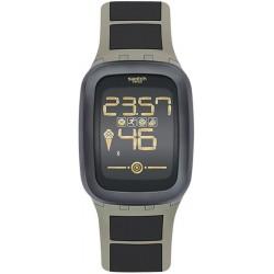 Acheter Montre Homme Swatch Digital Touch Zero One Earthzero SUVT100