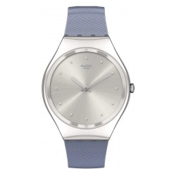 Montre Femme Swatch Skin Irony Blue Moire SYXS134