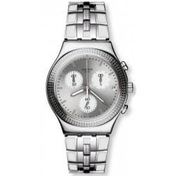 Acheter Montre Femme Swatch Irony Chrono Crystal Cascade YCS580G Chronographe