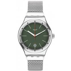 Montre Swatch YIS407G Irony Sistem 51 Sistem Kaki Automatique Unisex
