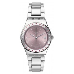 Montre Femme Swatch Irony Medium Pinkaround YLS455G
