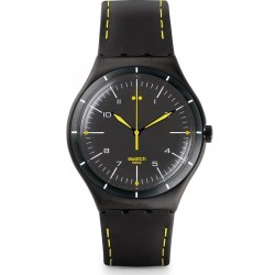 Montre Homme Swatch Irony Big Classic Black Bliss YWB100