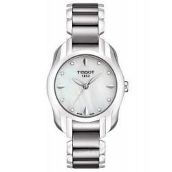 Montre Tissot Femme T-Wave Round T0232101111600 Diamants Nacre