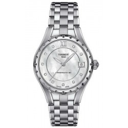 Acheter Montre Tissot Femme Powermatic 80 T0722071111600 Diamants Nacre