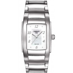 Montre Tissot Femme T-Lady T10 T0733101111600 Diamants Nacre Quartz