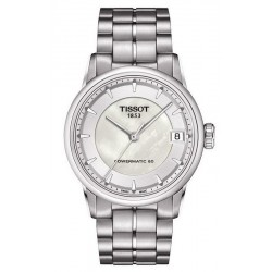 Montre Tissot Femme Luxury Powermatic 80 T0862071111100 Nacre