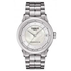 Acheter Montre Tissot Femme Luxury Powermatic 80 T0862071111100 Nacre