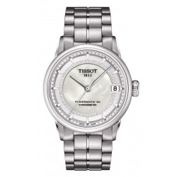 Acheter Montre Tissot Femme Luxury Powermatic 80 COSC T0862081111600 Diamants